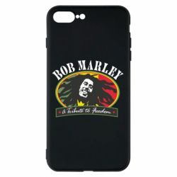 Чехол для iPhone 8 Plus Bob Marley A Tribute To Freedom