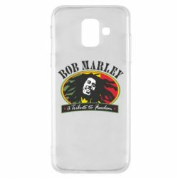 Чехол для Samsung A6 2018 Bob Marley A Tribute To Freedom