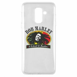 Чехол для Samsung A6+ 2018 Bob Marley A Tribute To Freedom
