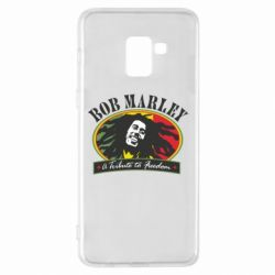 Чехол для Samsung A8+ 2018 Bob Marley A Tribute To Freedom