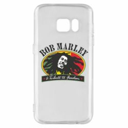 Чехол для Samsung S7 Bob Marley A Tribute To Freedom