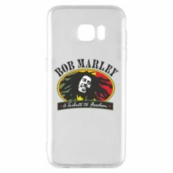 Чехол для Samsung S7 EDGE Bob Marley A Tribute To Freedom