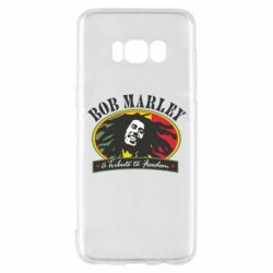 Чехол для Samsung S8 Bob Marley A Tribute To Freedom