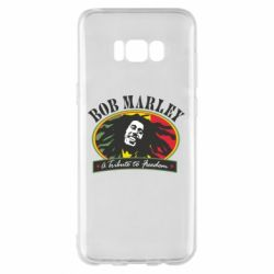 Чехол для Samsung S8+ Bob Marley A Tribute To Freedom