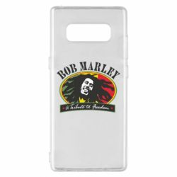 Чехол для Samsung Note 8 Bob Marley A Tribute To Freedom