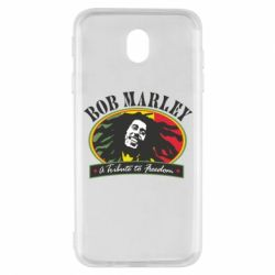 Чехол для Samsung J7 2017 Bob Marley A Tribute To Freedom