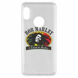 Чехол для Xiaomi Redmi Note 5 Bob Marley A Tribute To Freedom