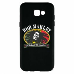 Чехол для Samsung A7 2017 Bob Marley A Tribute To Freedom