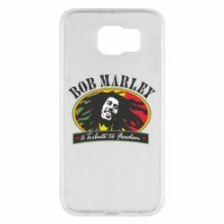 Чехол для Samsung S6 Bob Marley A Tribute To Freedom