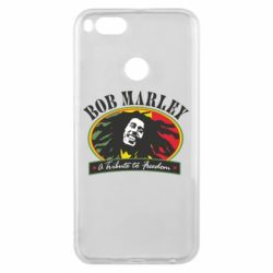 Чехол для Xiaomi Mi A1 Bob Marley A Tribute To Freedom