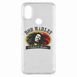 Чехол для Xiaomi Mi A2 Bob Marley A Tribute To Freedom