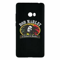 Чехол для Xiaomi Mi Note 2 Bob Marley A Tribute To Freedom
