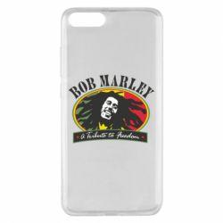Чехол для Xiaomi Mi Note 3 Bob Marley A Tribute To Freedom