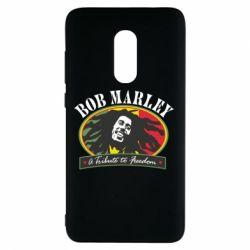 Чехол для Xiaomi Redmi Note 4 Bob Marley A Tribute To Freedom