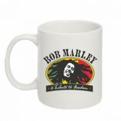 Кружка 320ml Bob Marley A Tribute To Freedom - FatLine
