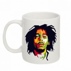 Кружка 320ml Bob Marley Color Art