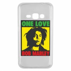 Чехол для Samsung J1 2016 Bob Marley One Love