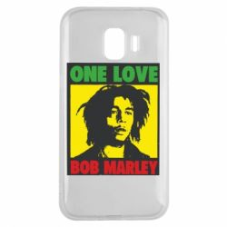 Чехол для Samsung J2 2018 Bob Marley One Love