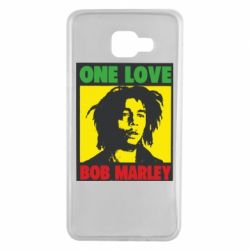 Чехол для Samsung A7 2016 Bob Marley One Love