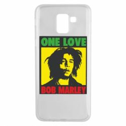 Чехол для Samsung J6 Bob Marley One Love