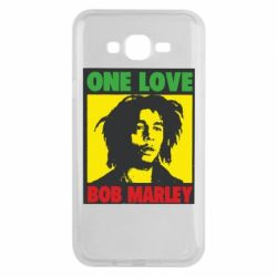 Чехол для Samsung J7 2015 Bob Marley One Love