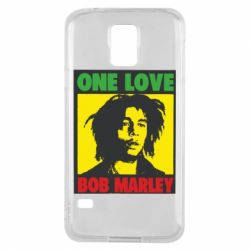 Чехол для Samsung S5 Bob Marley One Love