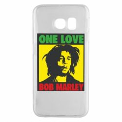 Чехол для Samsung S6 EDGE Bob Marley One Love