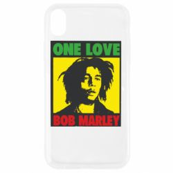Чехол для iPhone XR Bob Marley One Love