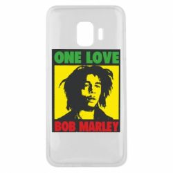 Чехол для Samsung J2 Core Bob Marley One Love