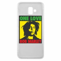 Чехол для Samsung J6 Plus 2018 Bob Marley One Love