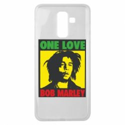 Чехол для Samsung J8 2018 Bob Marley One Love