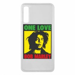 Чехол для Samsung A7 2018 Bob Marley One Love