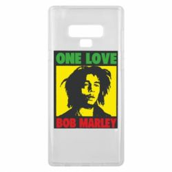 Чехол для Samsung Note 9 Bob Marley One Love
