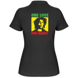 Жіноча футболка поло Bob Marley One Love