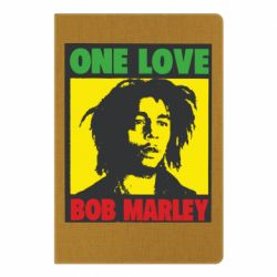 Блокнот А5 Bob Marley One Love