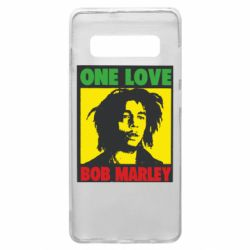 Чехол для Samsung S10+ Bob Marley One Love
