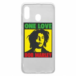 Чехол для Samsung A20 Bob Marley One Love