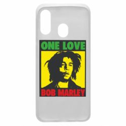 Чехол для Samsung A40 Bob Marley One Love