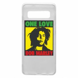 Чехол для Samsung S10 Bob Marley One Love