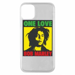 Чехол для iPhone 11 Pro Bob Marley One Love
