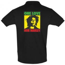 Футболка Поло Bob Marley One Love - FatLine