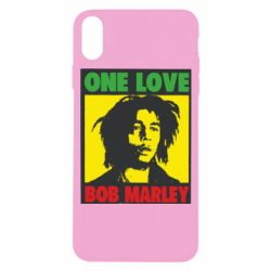 Чехол для iPhone X/Xs Bob Marley One Love