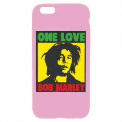 Чехол для iPhone 6/6S Bob Marley One Love