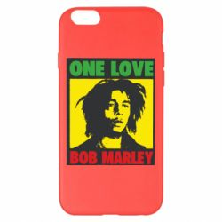 Чехол для iPhone 6 Plus/6S Plus Bob Marley One Love