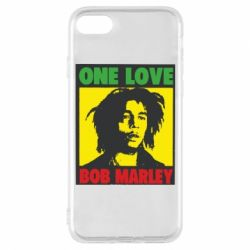 Чехол для iPhone 8 Bob Marley One Love
