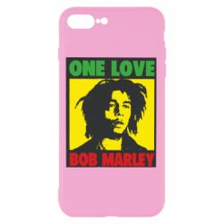 Чехол для iPhone 8 Plus Bob Marley One Love