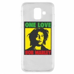 Чехол для Samsung A6 2018 Bob Marley One Love