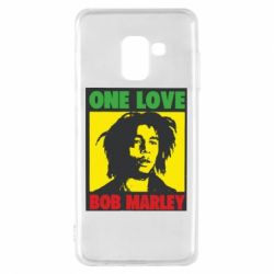 Чехол для Samsung A8 2018 Bob Marley One Love