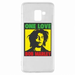 Чехол для Samsung A8+ 2018 Bob Marley One Love