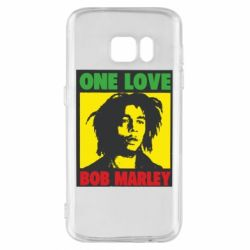 Чехол для Samsung S7 Bob Marley One Love